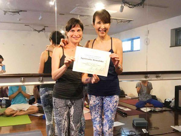 Agnieszka Kowalska - Bliss in Me - Yoga Time - Japan 08