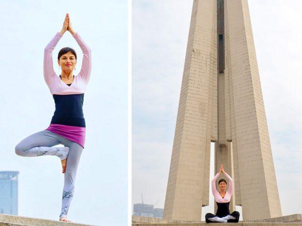 Agnieszka Kowalska - Bliss in Me - Yogi in the City Shanghai 08